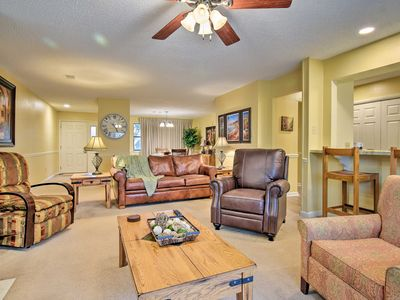 Photo for NEW! Hot Springs Emerald Isle Resort Condo on Lake