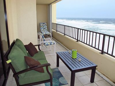 Large balcony Great for dolphin watching!!!
