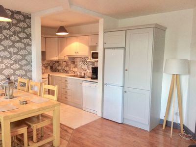 Photo for Spacious Coastal Loft-style Apartment in the country. 500m to Village. Parking.