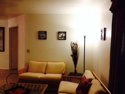 Living room (there is a 50 inch flat screen TV on the opposite wall)
