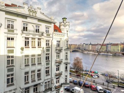 Photo for Apartment on the river bank (center of Prague)  9