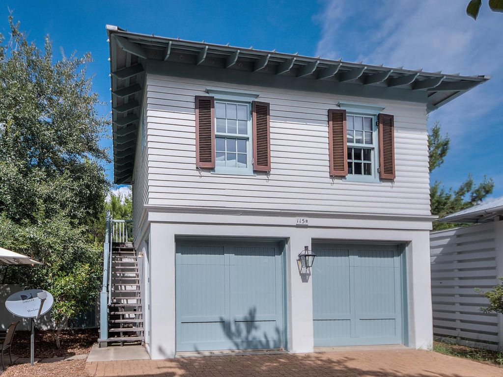 Charming Carriage House Located In Rosemary Beach Pet Friendly Make Offer