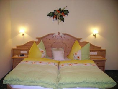 Photo for Shared room, shower, toilet - Sunnhäusl, bed and breakfast