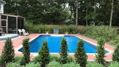 Photo for New Listing: Magazine-Worthy East Hampton Home on a Quiet Street w/ Modern Design, Private Pool
