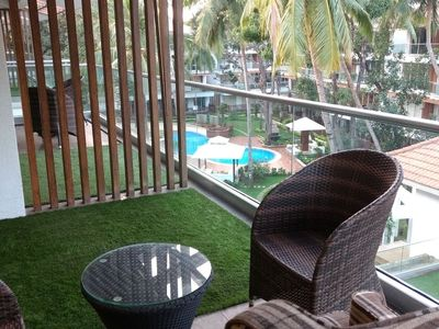 Photo for 1BR Apartment Vacation Rental in Calangute, Goa