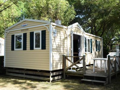 Photo for Camping L'Apamée *** - 3 room cottage 5 people