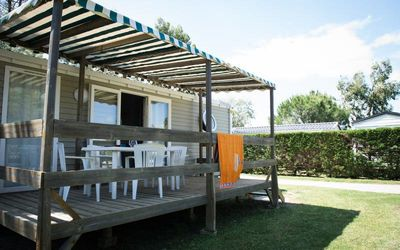 Photo for Camping L'Oasis *** - Air Conditioned Cottage 4 rooms 6 persons