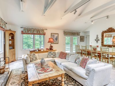 Photo for Cozy, dog-friendly home on shuttle route w/ great Stratton Mountain access!