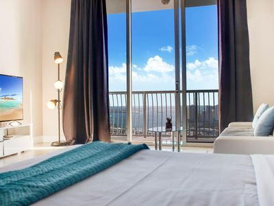 Photo for STUNNING BAY, OCEAN AND CITY VIEWS FROM PENTHOUSE ON THE 56TH FLOOR