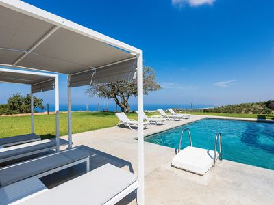Photo for High Quality Villa with Full Privacy, Pool & Exceptional Sea View!
