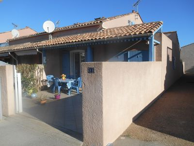 Photo for Terraced house well amenagée close to the beach
