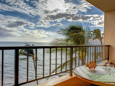 Photo for Ocean Front Penthouse #PH19 Best View in Kihei Most Amenities Fully Stocked