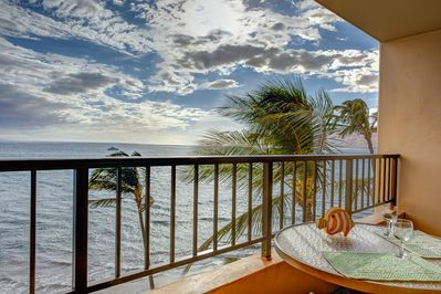 A view of paradise from the Lanai