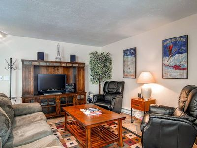 Photo for Location Location!  Short walk to Town, the Slopes and the Pool in this Condo