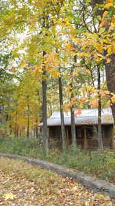 Carson Mountain Cottage in early autumn.