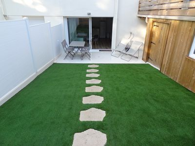 Photo for Arcachon, ground floor, 4 to 6 people with private garden