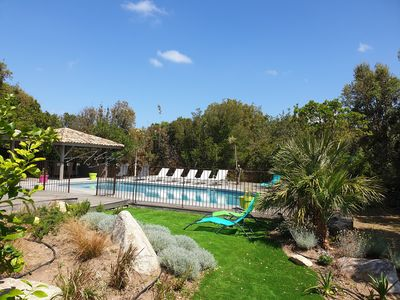 Photo for Villa sleeps 8, with independent studio, heated pool.