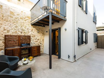 Photo for VaSan Suite - Modern design with BBQ yard - In the heart of old town