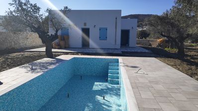 Photo for Kalathos Blue Dream with private pool