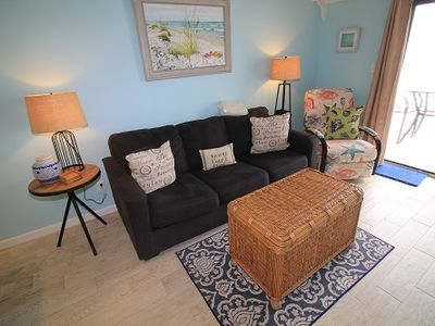 Photo for SB34, Completely Remodeled, Beautiful 1 BR 2 BA Gulf Front Condo, Sugar Sands