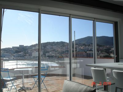 Photo for Beautiful duplex with terrace, breathtaking sea and mountain views