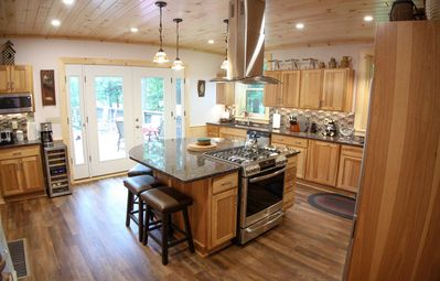 Adirondack Stags Leap with a brand new gourmet kitchen