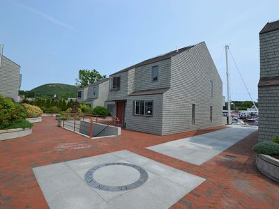 Photo for Inviting townhouse. Ever-changing views of Camden Harbor and Mt Battie.