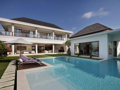 Photo for Stunning Rice Field View 5 Bedroom Villa Canggu