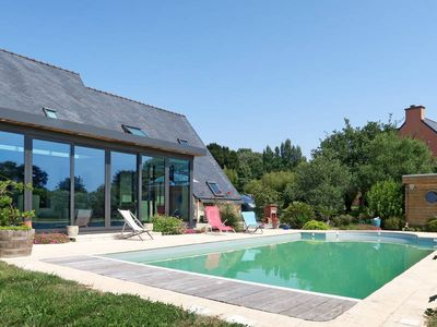 Photo for Vacation home La Hutte de Panoramix  in Cast, Finistère - 6 persons, 3 bedrooms