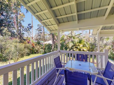 Photo for Beautiful hideaway home with wraparound lanai, WiFi, updated floors & furniture.