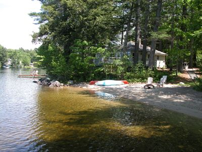 Photo for Lake/Mountain View-Highland Lake Waterfront 3 Bedroom Cottage