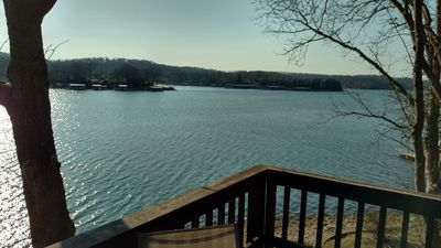 Photo for Gorgeous Lake Front. Pet Friendly. Private Dock. Family Getaway. Lake Ozarks.
