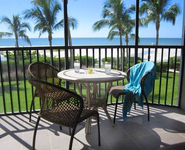 Photo for Beach Front- End Unit Condo with Private Garage Parking-Fort Myers Beach, ~FL~