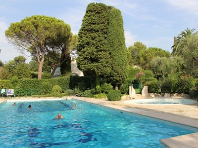 Photo for Appart standing 4 pers ds Resid 2 hectares nature (Olives, pines), 2 swimming pools