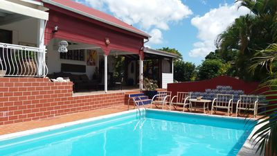 Photo for Charming Creole villa with pool ideal location to visit the entire island