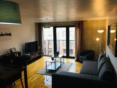 Photo for Superb apartment in prime location w/ parking