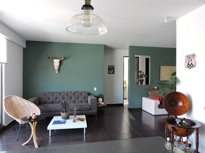 Photo for New & Vintage 2 Bedroom Apartment- Condesa