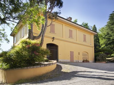 Photo for Suite in Historic Villa immersed in the park with a swimming pool in the Colli Bolognesi