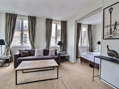 Photo for 72sqmt, 2 bedrooms 2 bathrooms for 6 people at the Louvre