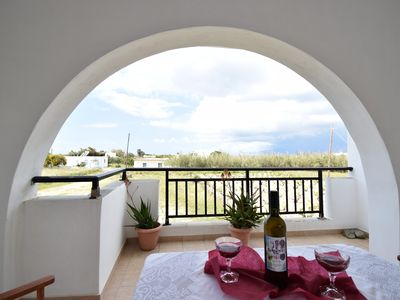 Photo for PALMOS spacious, self catering apartment near 3 natural beaches of Naxos
