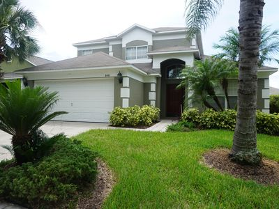 Photo for Vacation Magic! 5 BR/3 B Home with pool near theme parks