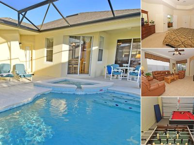 Photo for Pool Home with Spa in Gated Resort Community with Game Room