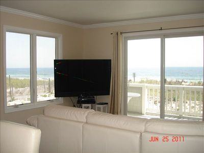 Photo for Oceanfront End Unit Condo W/ Pool - Centre St, Beach Haven
