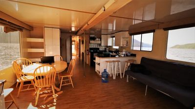 Photo for Sleep on your own houseboat on the gentle waters of shuswap Lake.