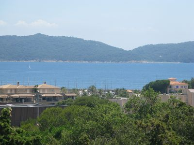 Photo for standing apart ,, cavalaire bay view, near downtown and beaches