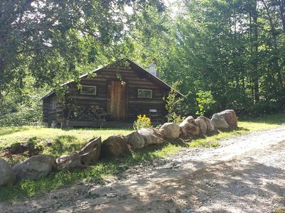 Photo for Unplug, Unwind and Relax in Ridgeview Log Cabin