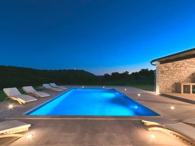 Photo for <<<<SPECIAL PRICE 04.-11.08.Luxury 5 STAR villa on 80 000m2 private land- POOL