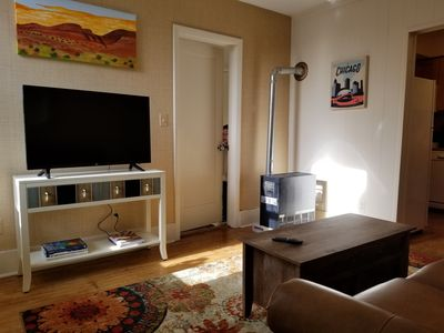 Photo for Quiet comfy Bucktown 1 BR with Sleeper Sofa