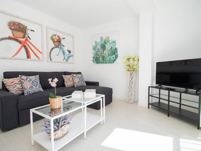 Photo for Bright Apartment Close to Beach and Town (C40)