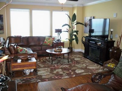 Photo for 5 Star Reviews; Gulf Front; Very Updated; Flat Screen TVs; High End Bedding